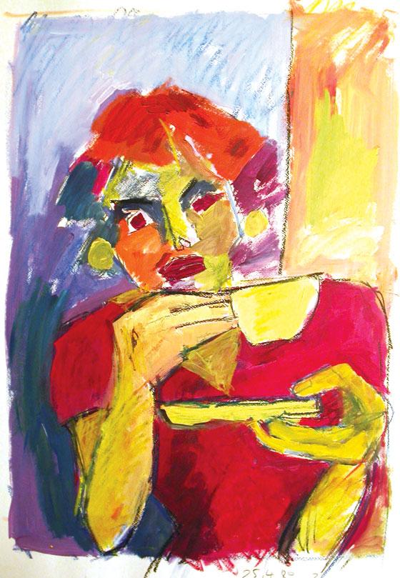 art_portrait_Kaffetrinkerin_1_1989